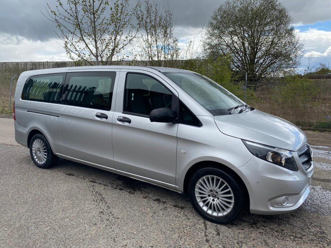 New Silver Mini-Van Perth Radio Taxis